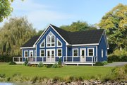 Country Style House Plan - 2 Beds 2 Baths 1586 Sq/Ft Plan #932-363