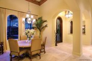 Mediterranean Style House Plan - 4 Beds 4.5 Baths 3790 Sq/Ft Plan #930-13 Interior - Dining Room