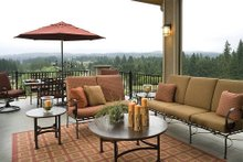 Covered patio - 5100 Square foot Craftsman home
