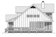 Country Style House Plan - 3 Beds 2.5 Baths 1854 Sq/Ft Plan #932-261 Exterior - Other Elevation