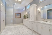 Mediterranean Interior - Master Bathroom Plan #930-511