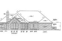 Home Plan - European Exterior - Rear Elevation Plan #310-831