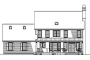 Classical Style House Plan - 4 Beds 2.5 Baths 2475 Sq/Ft Plan #929-383 Exterior - Rear Elevation