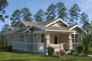 Craftsman Style House Plan - 3 Beds 2 Baths 1621 Sq/Ft Plan #895-106 Exterior - Front Elevation