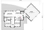 Farmhouse Style House Plan - 3 Beds 3 Baths 2557 Sq/Ft Plan #524-15 Floor Plan - Main Floor Plan