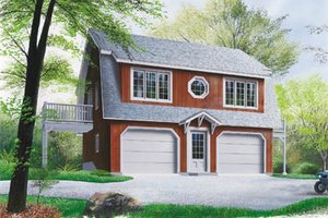 Garage Plans with Apartments - Dreamhomesource.com