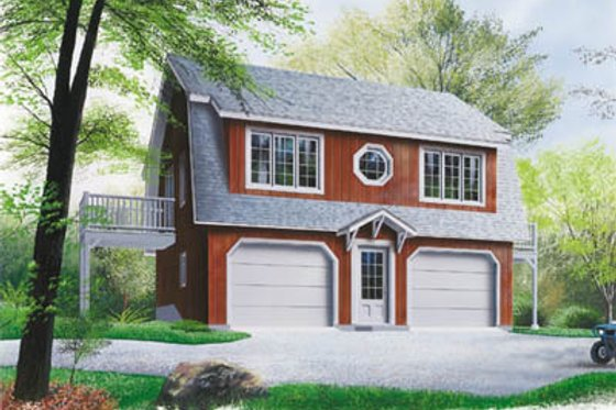 Traditional Exterior - Front Elevation Plan #23-2031