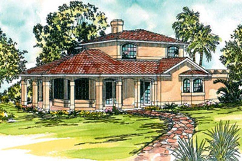 Exterior - Front Elevation Plan #124-236 - Houseplans.com