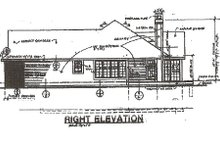 Traditional Exterior - Other Elevation Plan #320-359