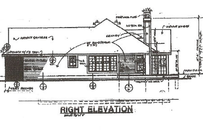 Traditional Exterior - Other Elevation Plan #320-359 - Houseplans.com