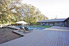 Architectural House Design - Ranch Exterior - Outdoor Living Plan #888-17