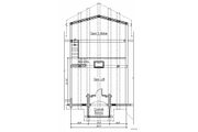 Log Style House Plan - 5 Beds 4 Baths 3867 Sq/Ft Plan #451-2 Floor Plan - Upper Floor Plan