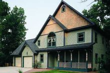 Dream House Plan - European Exterior - Front Elevation Plan #72-113