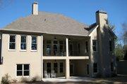 European Style House Plan - 4 Beds 4 Baths 2697 Sq/Ft Plan #437-48 Exterior - Rear Elevation
