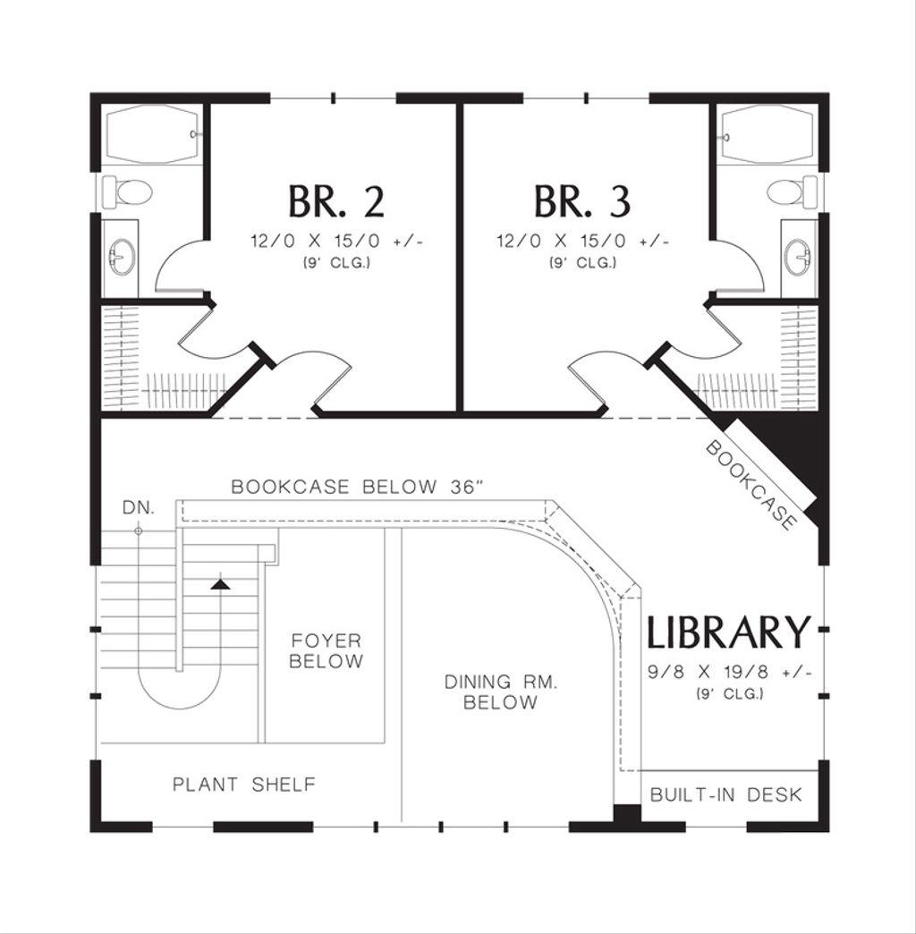 Prairie Style House Plan - 3 Beds 3 5 Baths 3217 Sq/Ft Plan
