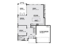 Modern Floor Plan - Main Floor Plan Plan #1066-3
