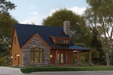 Architectural House Design - Craftsman Exterior - Front Elevation Plan #923-178