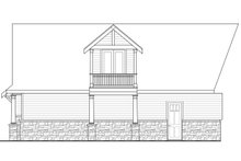 Dream House Plan - Country Exterior - Rear Elevation Plan #124-967