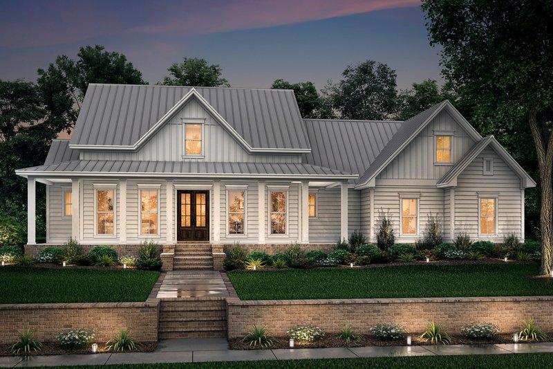 House Design - Farmhouse Exterior - Front Elevation Plan #430-160