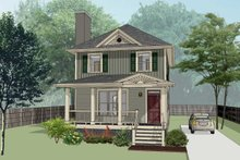 Home Plan - Southern Exterior - Front Elevation Plan #79-196