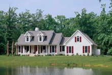 Architectural House Design - Country Exterior - Front Elevation Plan #929-191