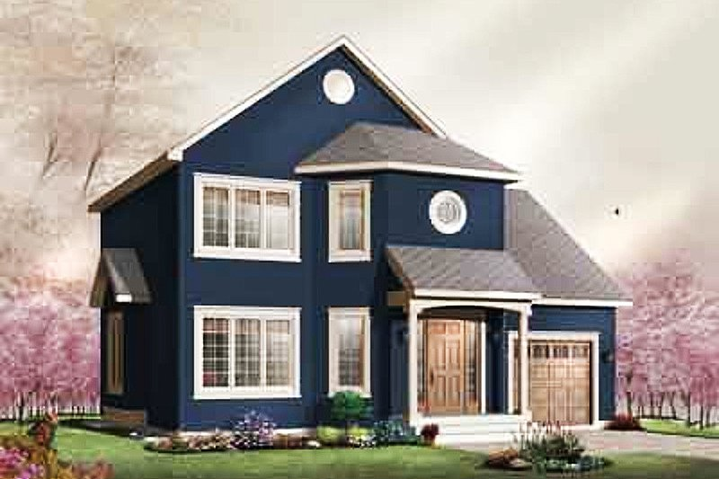 Dream House Plan - Traditional Exterior - Front Elevation Plan #23-673