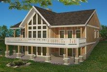 House Design - Craftsman Exterior - Front Elevation Plan #117-891