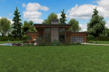 House Design - Contemporary Exterior - Other Elevation Plan #48-1001