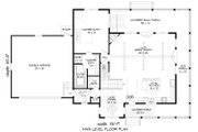 Country Style House Plan - 4 Beds 3.5 Baths 2123 Sq/Ft Plan #932-145 Floor Plan - Main Floor