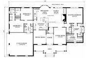 Southern Style House Plan - 3 Beds 2 Baths 2441 Sq/Ft Plan #137-160 Floor Plan - Main Floor Plan