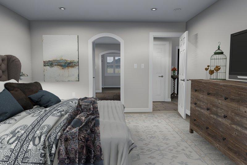 House Plan Design - Traditional Interior - Master Bedroom Plan #1060-25