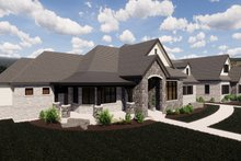 Home Plan - European Exterior - Other Elevation Plan #920-113