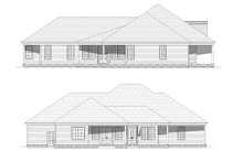 Dream House Plan - Country Exterior - Other Elevation Plan #932-320