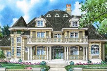 Classical Exterior - Front Elevation Plan #930-271