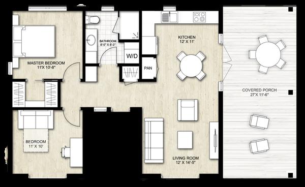 Home Plan - Ranch Floor Plan - Main Floor Plan #924-11