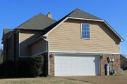 European Style House Plan - 4 Beds 2.5 Baths 2640 Sq/Ft Plan #329-122 Exterior - Other Elevation