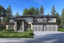 Dream House Plan - Modern Exterior - Front Elevation Plan #1066-82