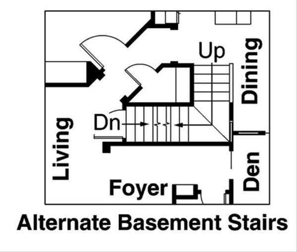 Bungalow Floor Plan - Other Floor Plan Plan #124-485