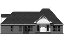 Dream House Plan - European Exterior - Rear Elevation Plan #21-336