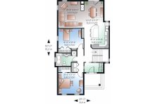 Country Floor Plan - Main Floor Plan Plan #23-780