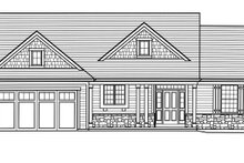 Architectural House Design - Country Exterior - Front Elevation Plan #46-892