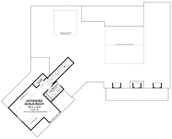 Farmhouse Floor Plan - Other Floor Plan Plan #430-231