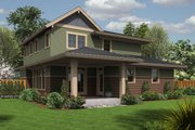 Country Style House Plan - 4 Beds 3 Baths 2315 Sq/Ft Plan #48-638 Exterior - Rear Elevation