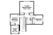 Craftsman Floor Plan - Upper Floor Plan Plan #124-890