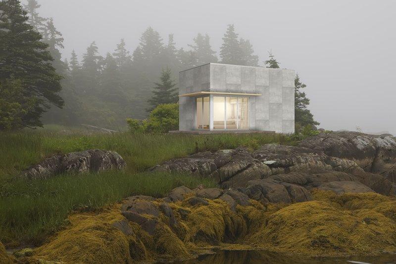 Home Plan - Modern Exterior - Front Elevation Plan #497-61