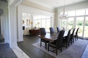 European Style House Plan - 4 Beds 4.5 Baths 6554 Sq/Ft Plan #923-69 Interior - Dining Room