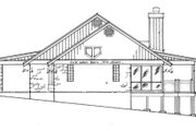 Ranch Style House Plan - 2 Beds 2.5 Baths 1556 Sq/Ft Plan #140-134 Exterior - Other Elevation