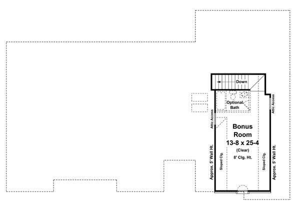 Southern Floor Plan - Other Floor Plan Plan #21-234