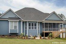 Dream House Plan - European Exterior - Rear Elevation Plan #929-3