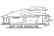 Contemporary Style House Plan - 2 Beds 2.5 Baths 2251 Sq/Ft Plan #20-2428 Exterior - Other Elevation